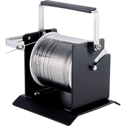 Delcast Solder Dispenser Wire Spool Holder Metal Stand Welding Soldering Tools