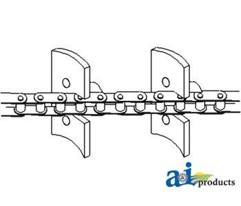 PART NO A-86570955 Chain Clean Grain Elevator
