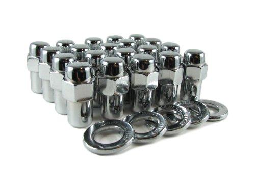 Cragar Standard Mag Lug Nut 12x125 with Center Washer Set of 20 Pcs