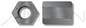 200pcs 34-16X1-18 Hex Nuts Thick Nuts Grade 8 Steel