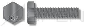 48 lbs M12X30 Metric Hex Head Cap Screws  Hex Bolts Grade 109 Steel Plain Full Thread Ships FREE in USA by Aspen Fasteners