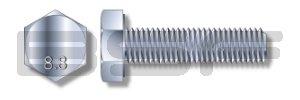 M12X30 Din 933 8 Point 8 Metric Fully Threaded Cap Screw Zinc
