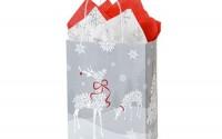 Christmas-Gift-Bags-Cub-Snowflake-Reindeer-Recycled-Mini-Pk-8-1-4x4-3-4x10-1-2-2-Packs-25-Bags-Per-Pack-WRAP-SRMC-11.jpg