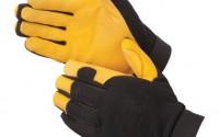 GOLDEN-KNIGHT-Premium-grain-deerskin-black-spandex-fabric-back-adjustable-hook-loop-tab-Gloves-Medium-Pair-31.jpg